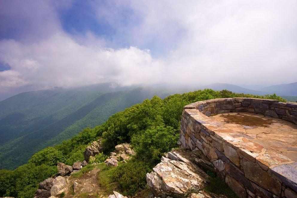 Beau Hawksbill Mountain Shenandoah National Park