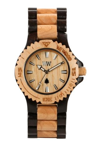 Wewood Date Black Beige Wewood Wooden Watches The Original Wood Watch With Images Wewood Wood Watch Wewood Watches