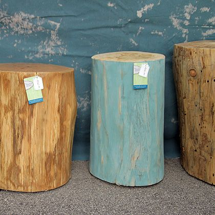 so awesome stumps when our building envelope is done and i get our back yard back i am totally painting stumps - Tree Stumps For Sale
