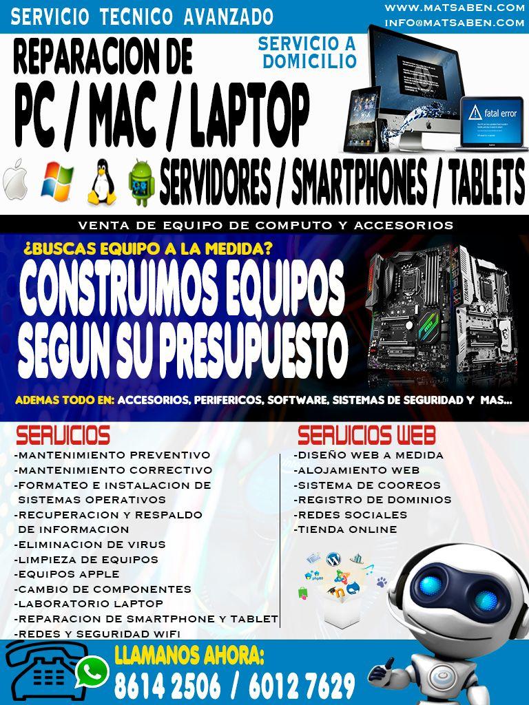 Venta Reparacion Y Mantenimiento De Equipos De Computo Pc Y Mac