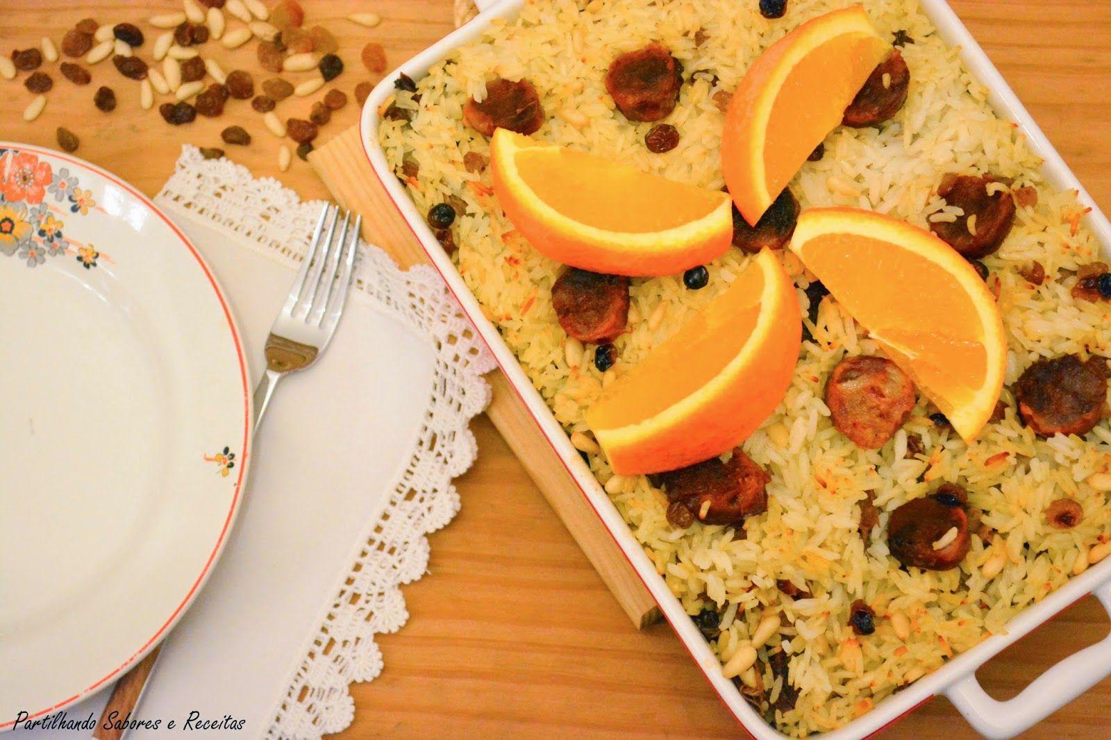 Partilhando Sabores e Receitas: Arroz de Pato com Frutos Secos