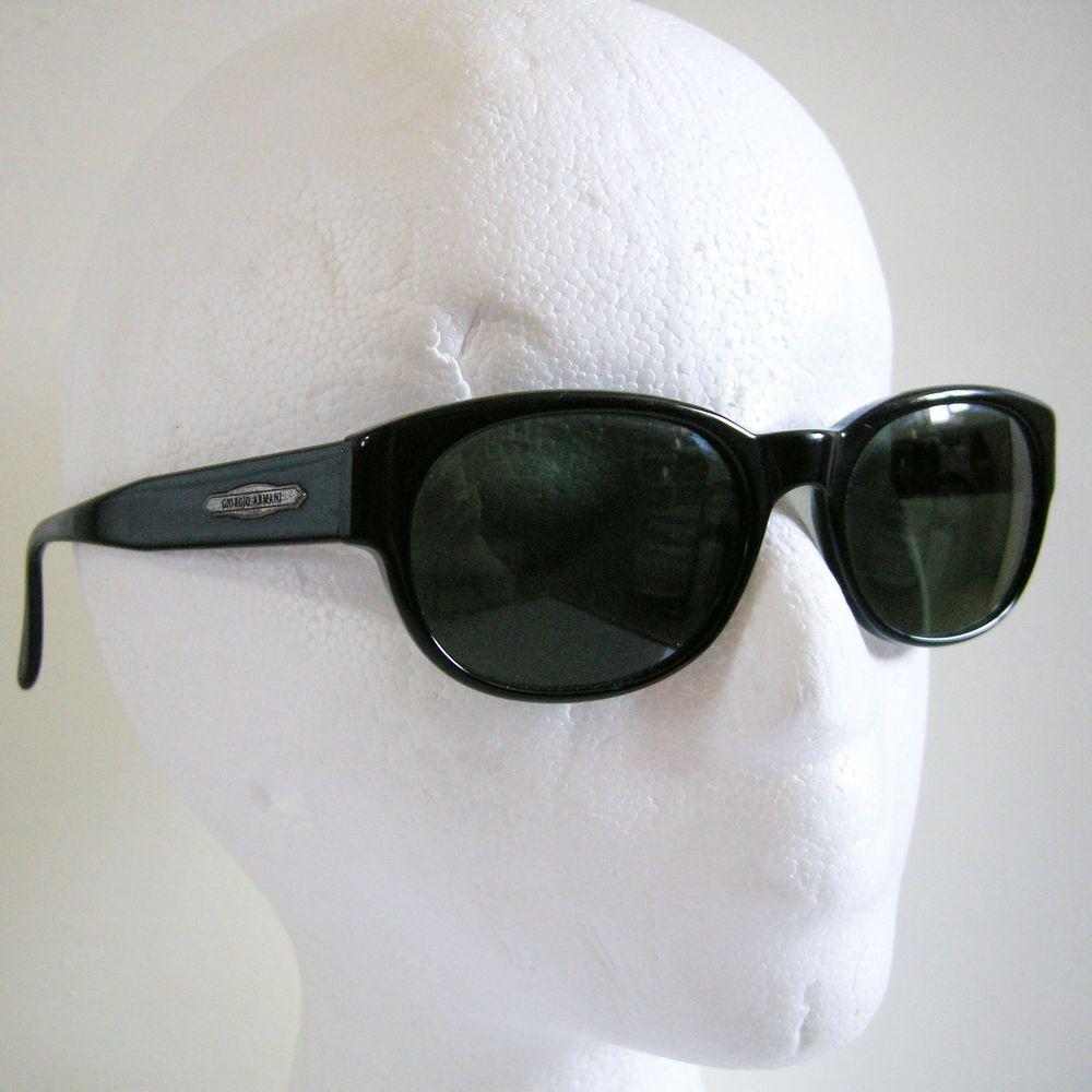 b86645b9157 Authentic Vintage GIORGIO ARMANI 838 020 Sunglasses Mineral Glass Lenses  Italy  GiorgioArmani