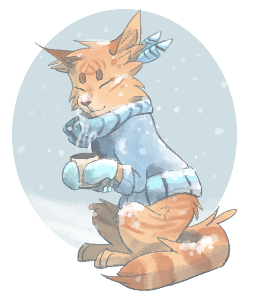 Chilly Maple by Finchwing Warrior cat drawings, Warrior