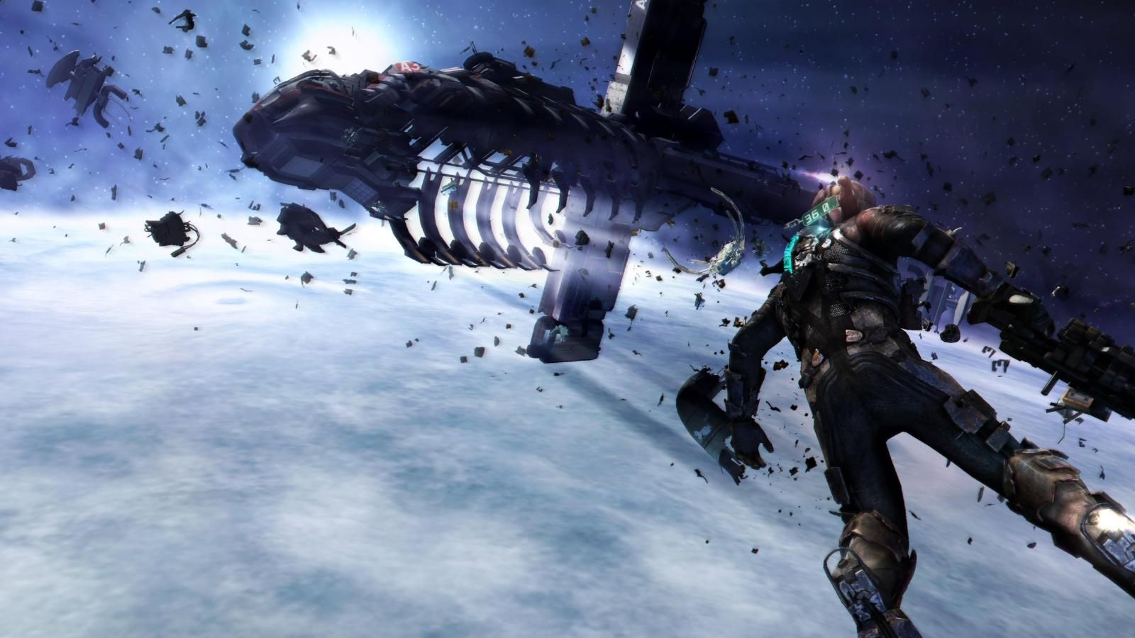 Wallpaper for 1600x900 — Dead space ishimura Dead space