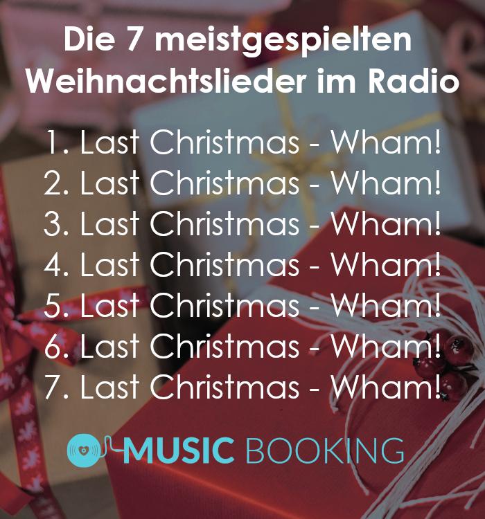 Weihnachtslieder #Wham! #lastchristmas #weihnachten #radio ...