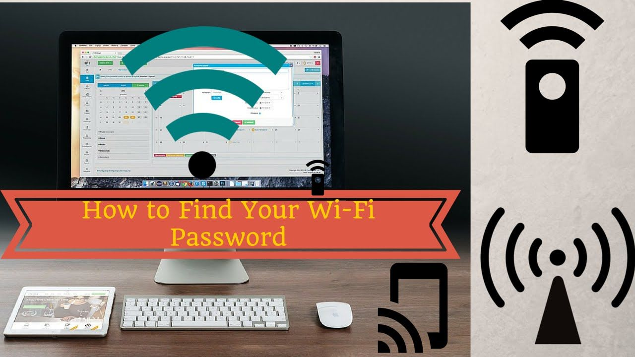 How to Find Your WiFi Password How to find your