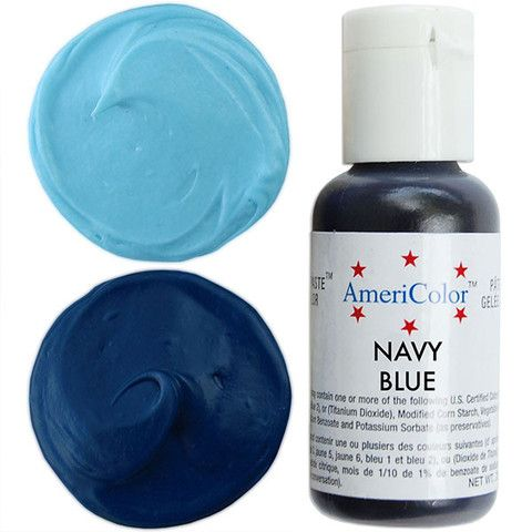 Navy Blue Gel Paste Food Coloring | Food Coloring | Pinterest ...