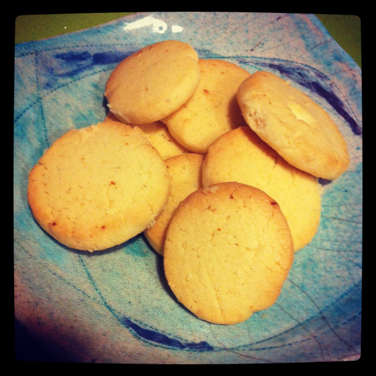 Organic lemon tea cookies #homemade