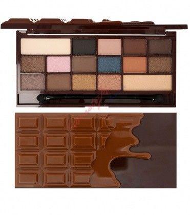 I Heart Revolution Salted Caramel Chocolate Paleta 16 Cieni Do Powiek