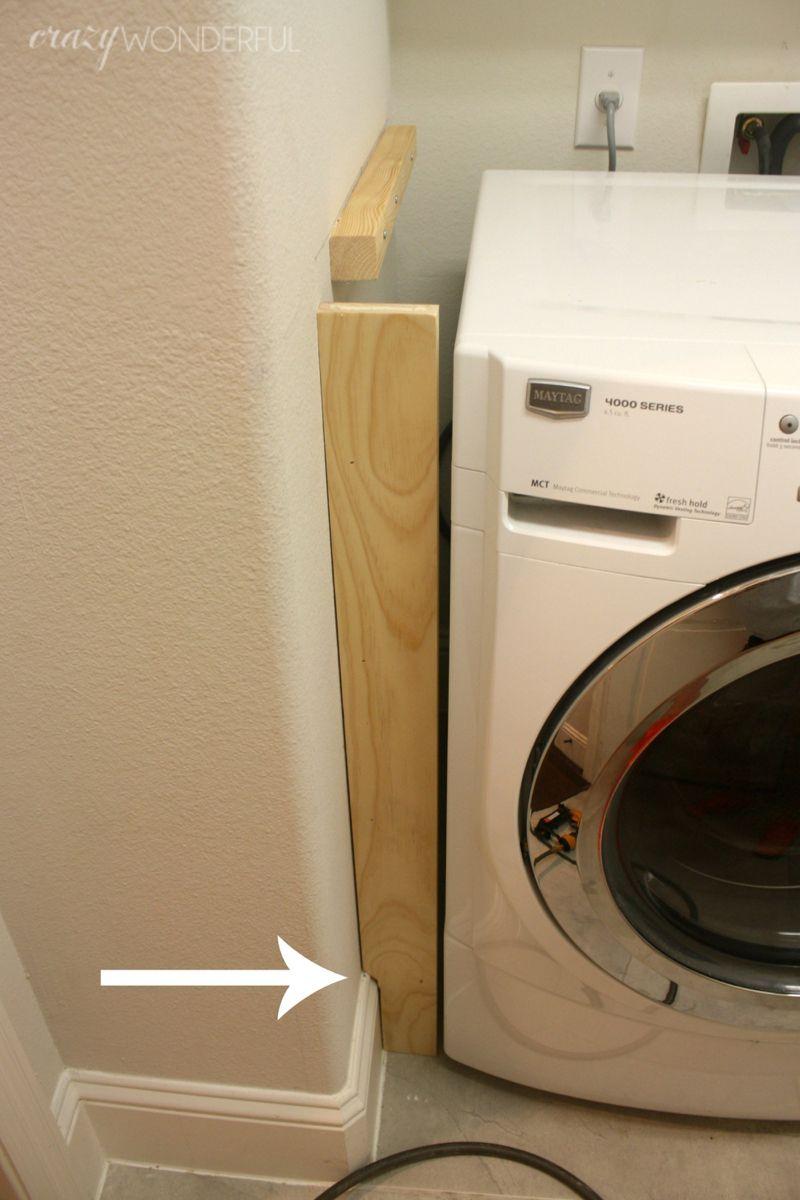 Verwonderlijk DIY built in washer + dryer in 2020 | Wasruimte makeovers CT-42