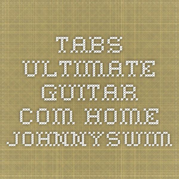 Tabsultimate Guitar Home Johnnyswim Uke Pinterest Guitars