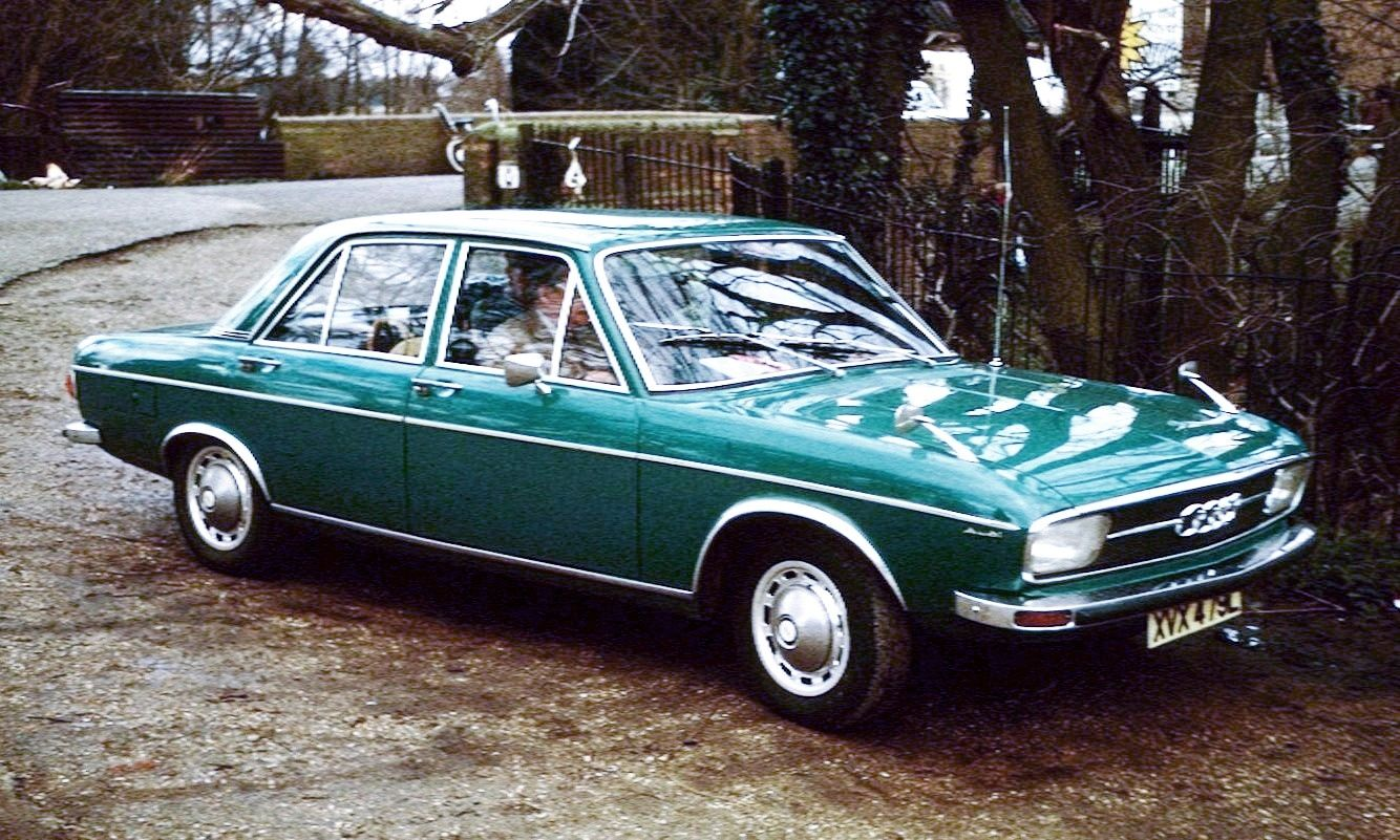 1972 Audi 100 Ls I Had One Same Color Fun Car To Drive