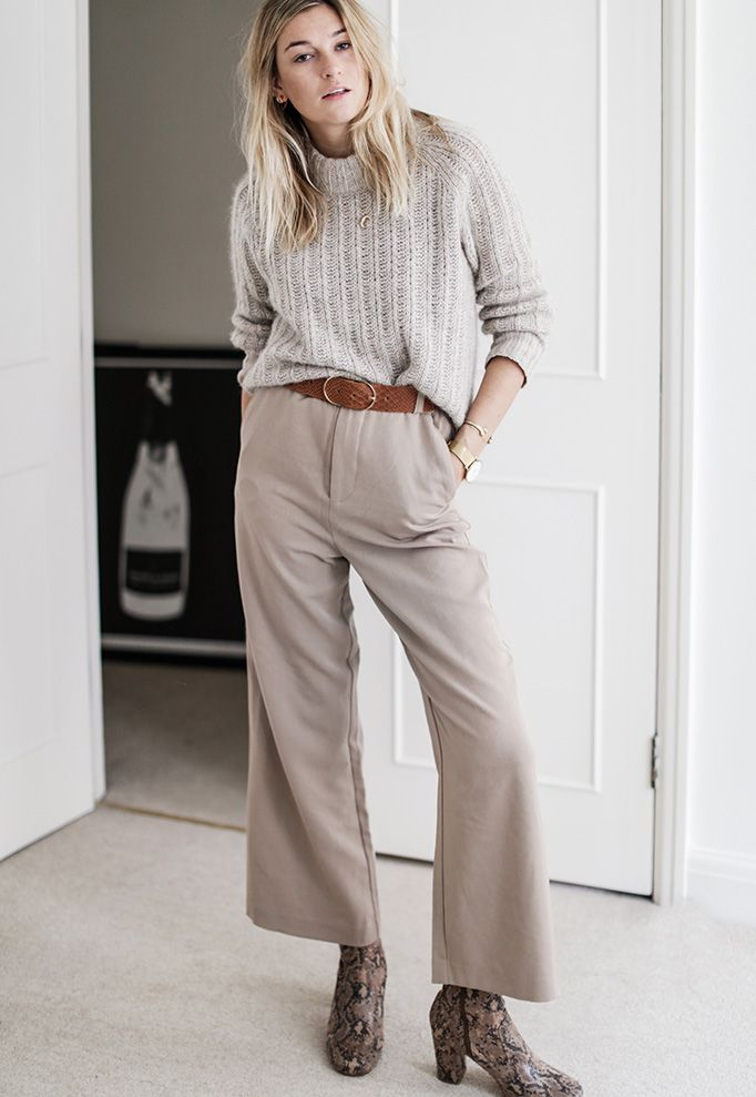 79317d66bac How To Wear Winter Culottes (The Edit)