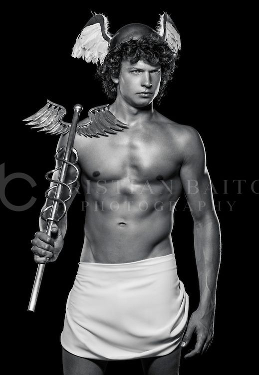 Hermes God Of Flight Greek Mythology Costumes Greek God Costume Mythology Costumes