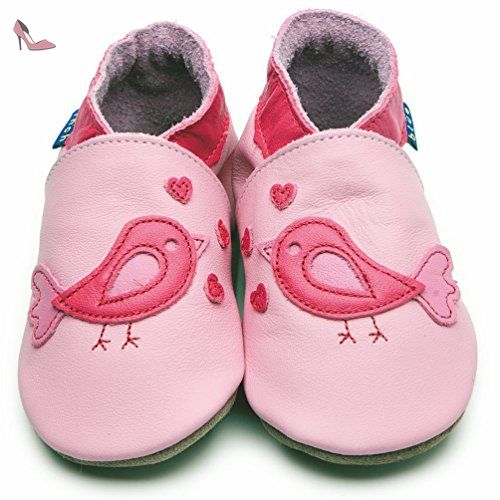 Inch Blue , Chaussures souples pour bébé (fille) Multicolore Rosa/Fuchsie  Child Medium - Chaussures inch blue (*Partner-Link)