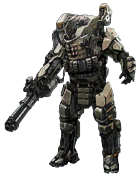 The Xs1 Goliath Also Known As The Ast Goliath Armor And Atlas Goliath Is A Manually Piloted Mechanized Suit Of Advanced Exosuit Battle Armor Armor Concept
