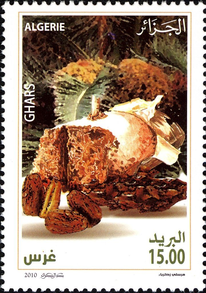 2010: Ghars (אלג'יר) (Dates of Algeria) Mi:DZ 1645,Yt:DZ