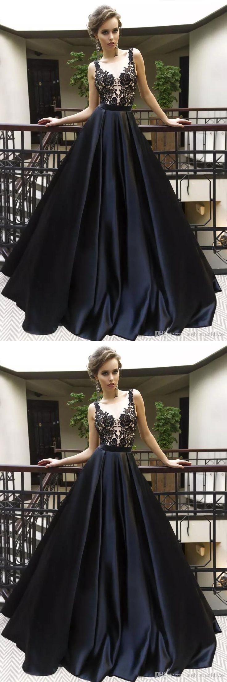 Schwarz Prom Dress 17, Abendkleider, Abendkleid, Abschlussfeier