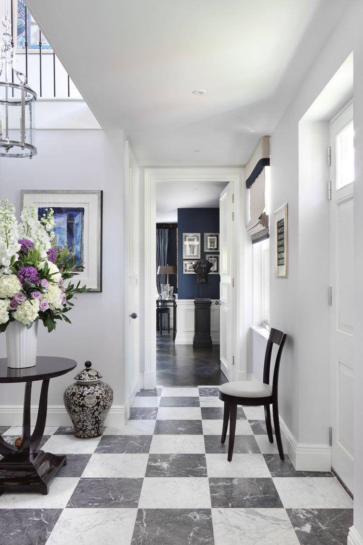 Entrance Hall @oliverburnsuk Luxury Interior Design, Projects And Interiors,  Best Interior Designers UK.