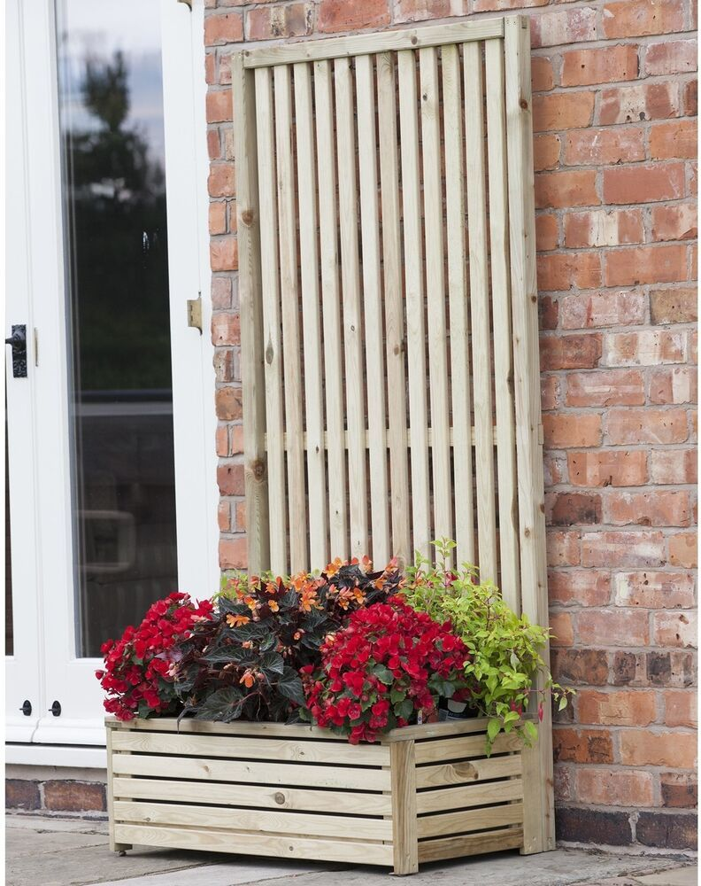 Leader Dealers On Wooden Planters Rectangular Planters Planter Box With Trellis