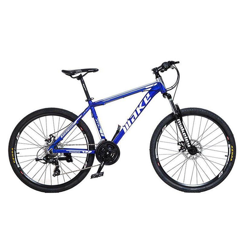 24 Speed Double disc Brake mountain Bike 26 inch wheels Aluminum alloy Damping Bicycle Bead Pedal MTB Bike