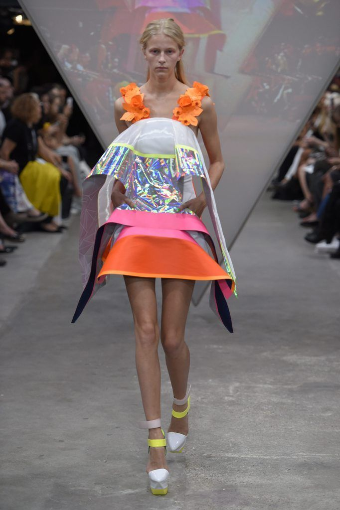 FYODOR GOLAN ss15 London Fashion Week