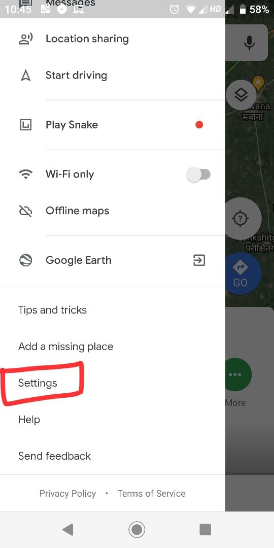 delete history on iphone maps