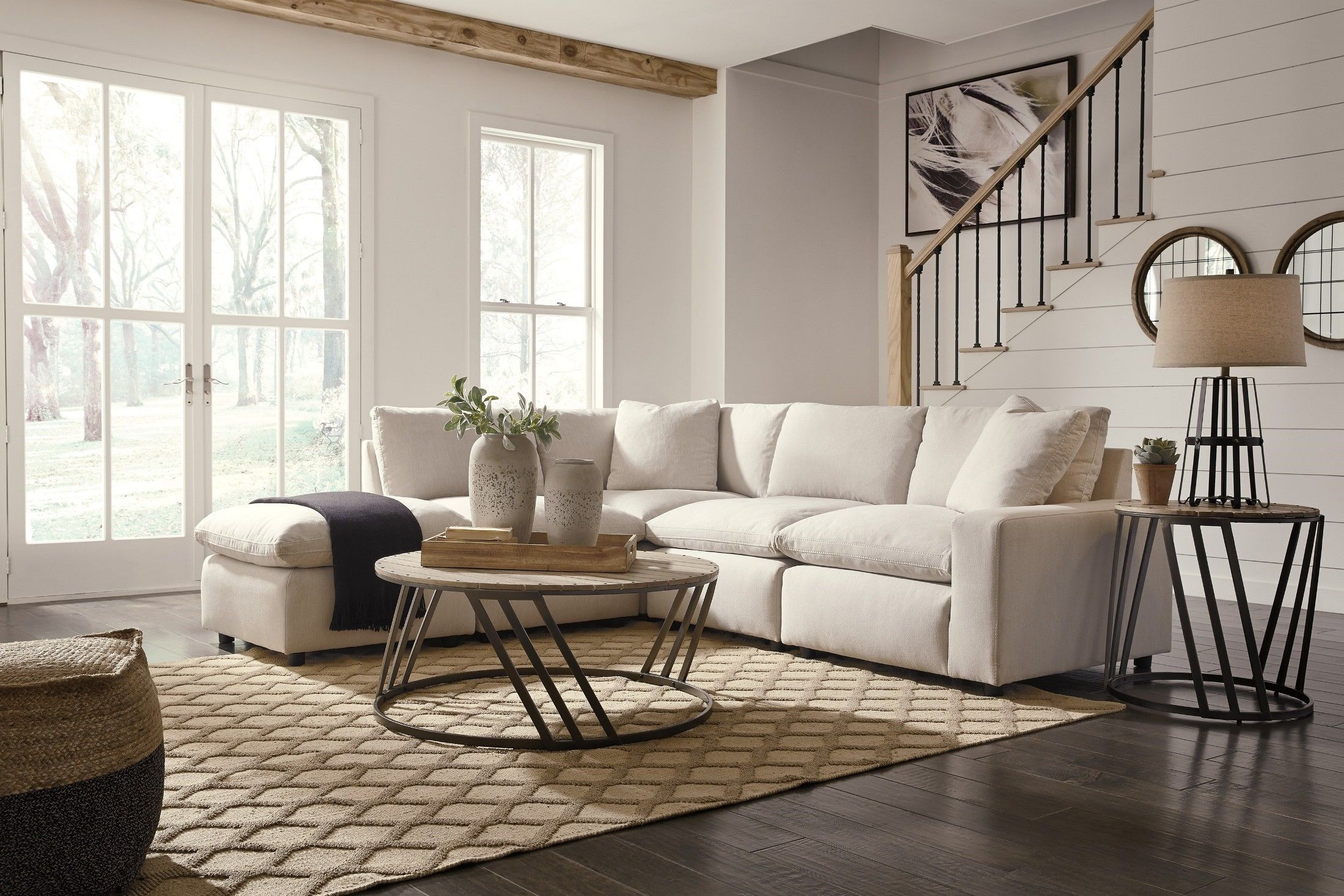 Savesto Ivory Small Laf Sectional In 2019 Dream Home Ashley