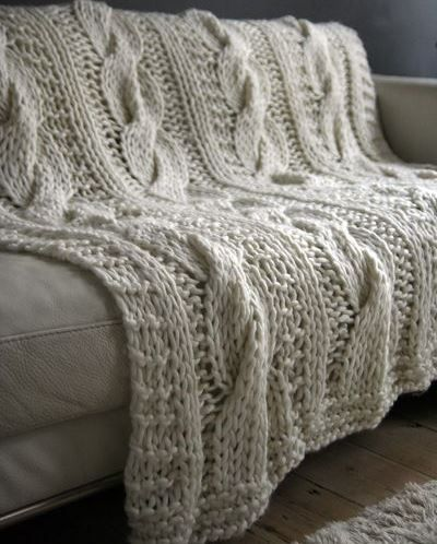Oh my goodness yes. I want one of these throw blankets for the couch ...
