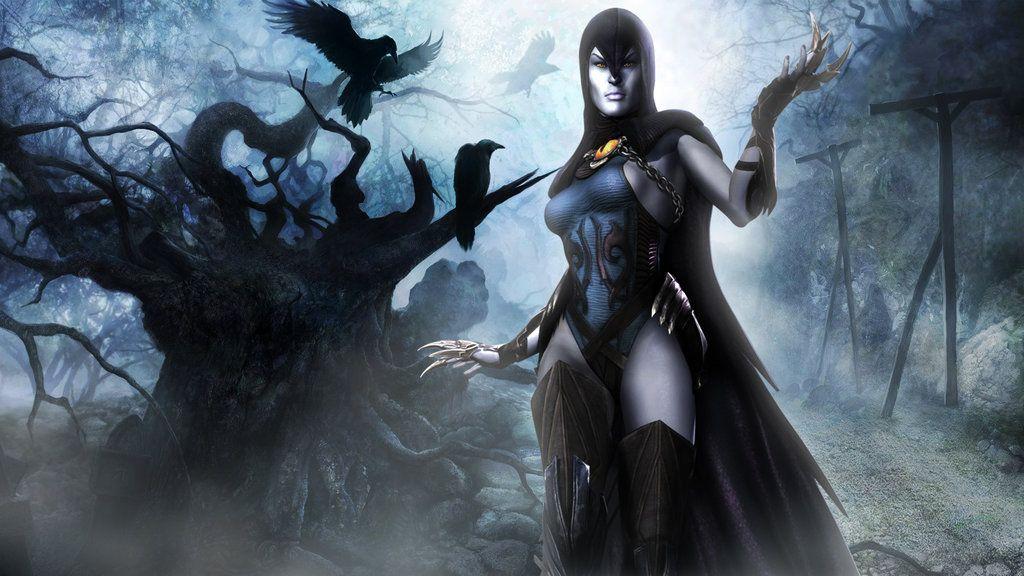 Raven Wallpaper Injustice Gods Among Us by BPaluan