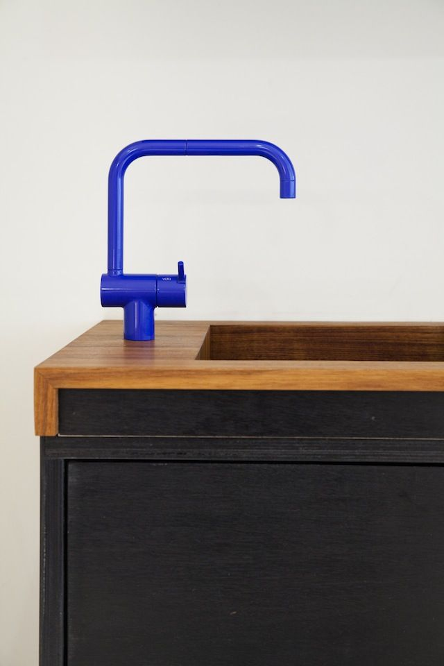 Vola hv1 bright faucets by Arne Jacobsen