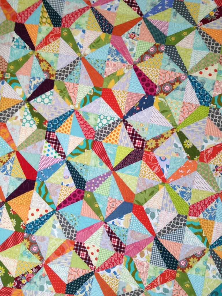 Dresden Wedge Quilt With Link To Tutorial Squares And