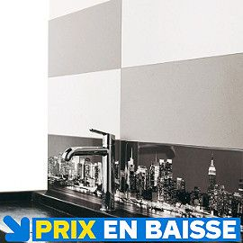 carrelage mural auto adhesif blanc mat