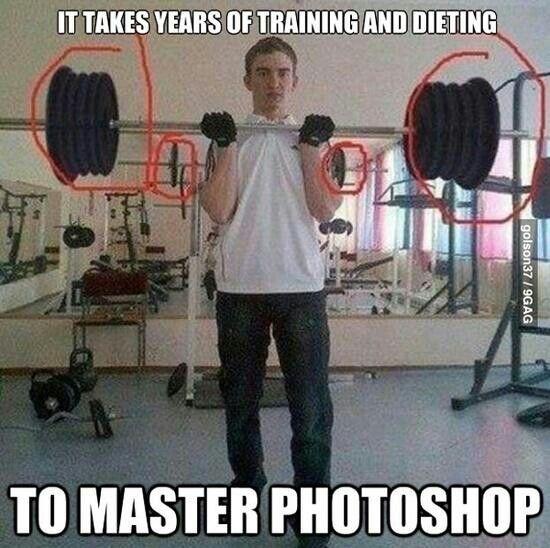 Bad photoshopping
