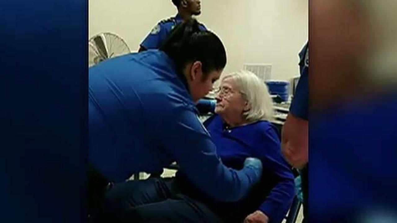 TSA searches 96yearold woman in wheelchair in viral