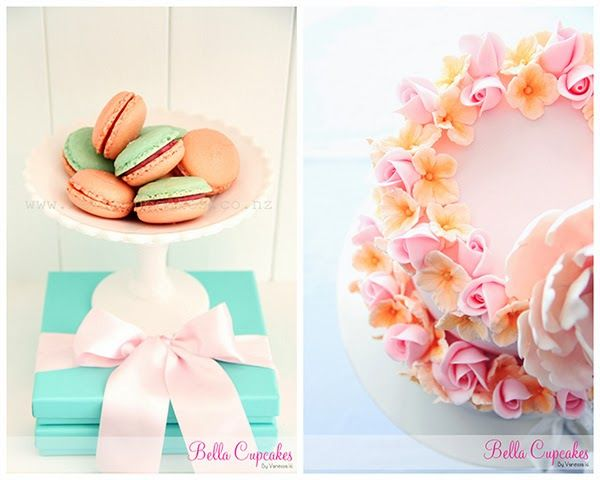Bella+Cupcakes3 Pastel Cakes and Dreamy Decor