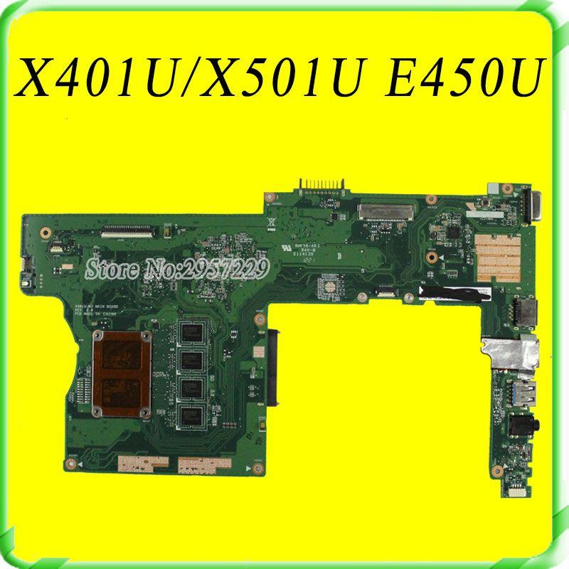 For Asus X401u X501u Laptop Motherboard X401u M3 Amd Cpu Onboard