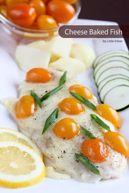 Little Inbox Recipe ~Eating Pleasure~: Cheese Baked Fish