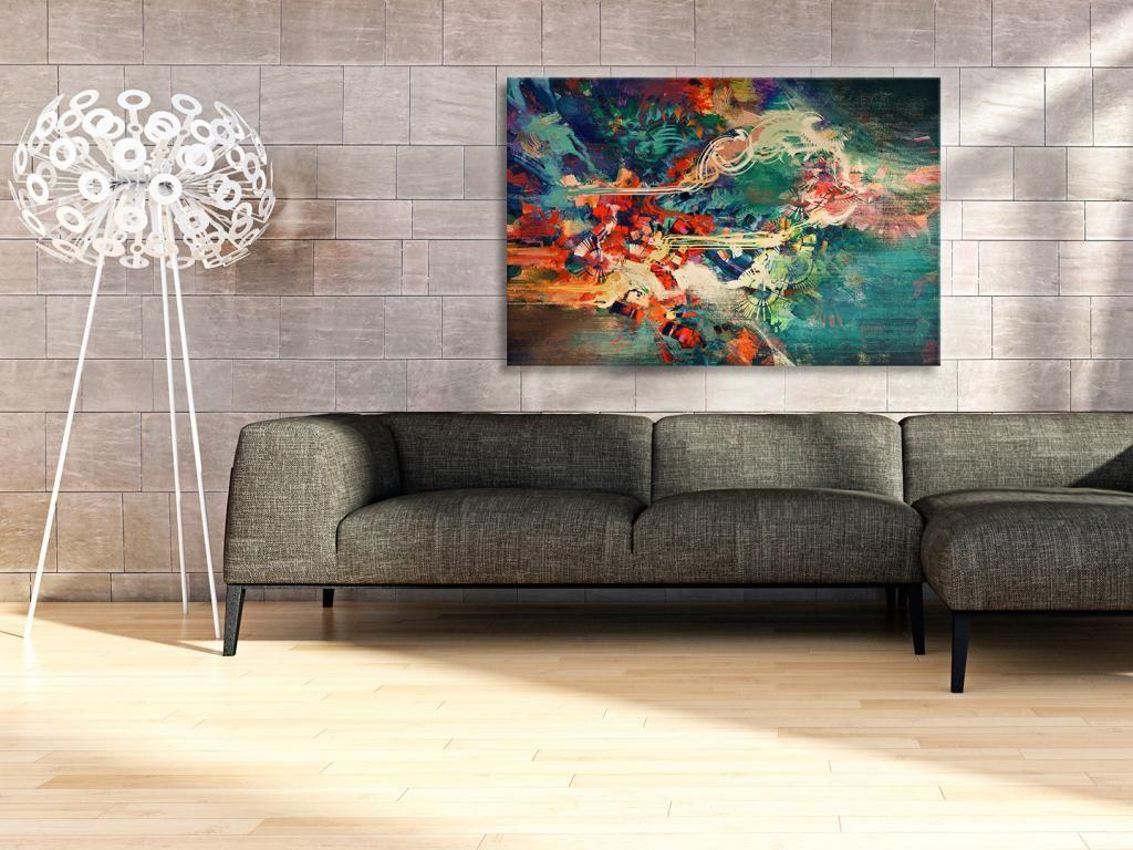 22201 Obraz Na Plotnie Abstrakcja Wzor 120x80 Furniture Design Furniture Home Decor