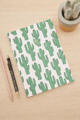 Woouf Cactus A5 Notebook | Urban Outfitters