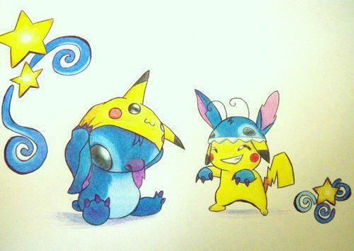 Pin By Kaitlyn Bivins On Cartoon Stitch And Pikachu Stitch Drawing Cute Disney Wallpaper
