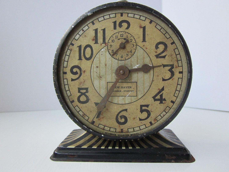Vintage Alarm Clock by housewarming101 on Etsy