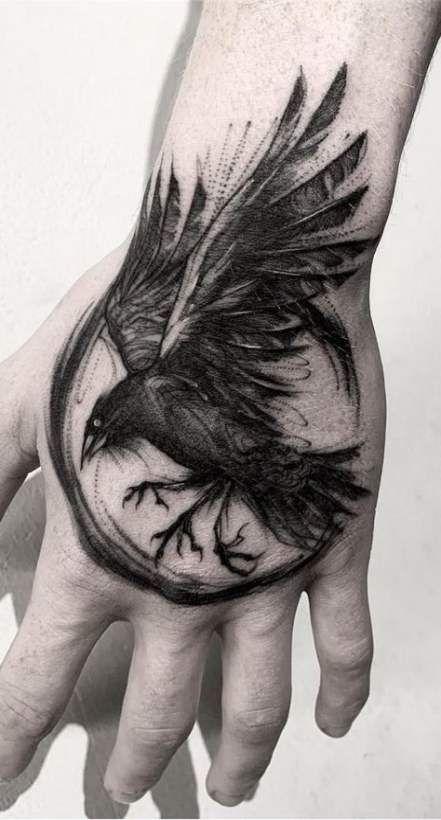 Bird Tattoo Men Ravens Crows 33+ Neue Ideen - Meine Ideen