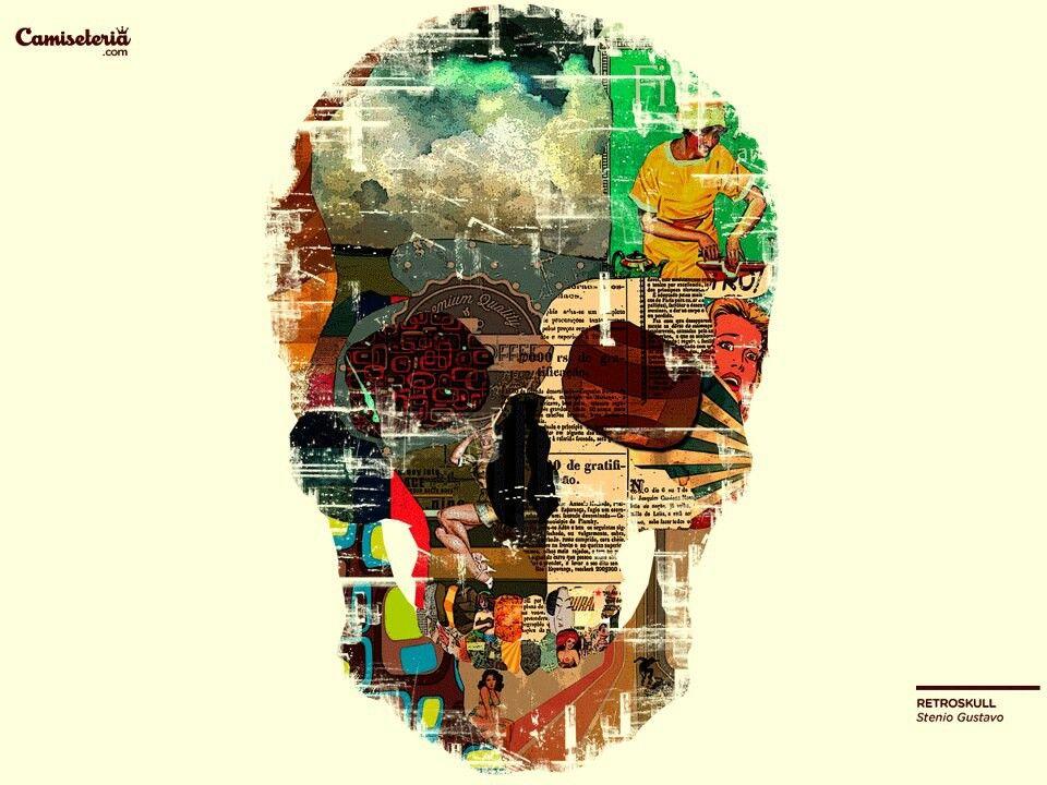 Skull Artwork, Skull Art, Artwork