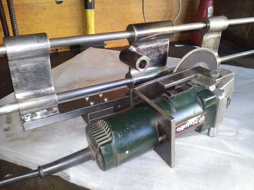 Angle Grinder Surfacing Jig Google Search Angle Grinder Homemade Tools Grinder