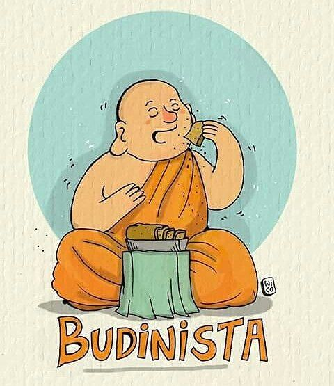 Budinista.  Por @nicoilustraciones  #pelaeldiente