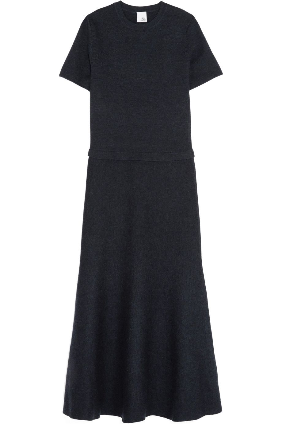 Shop onsale iris and ink tilda milanoknit wool midi dress browse