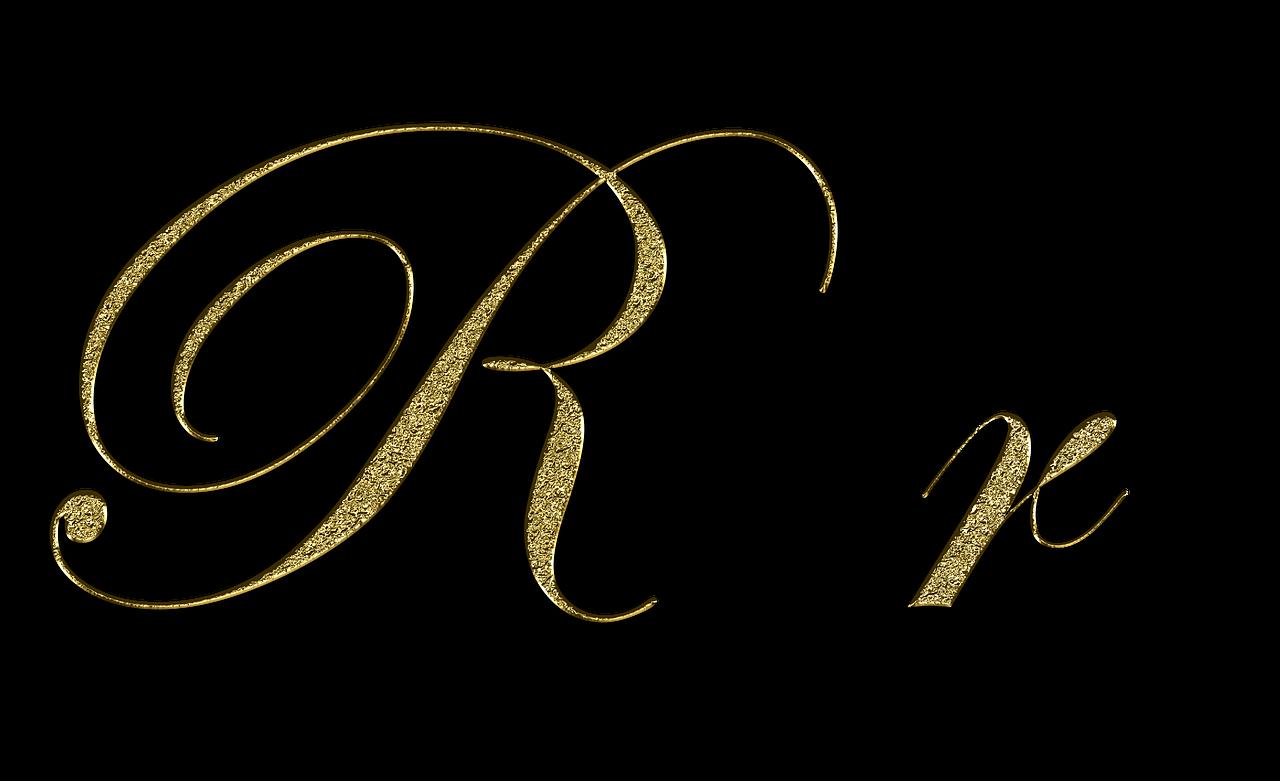 Free Image On Pixabay Letter R Gold Font Letter R Lettering Letter R Lettering Fonts