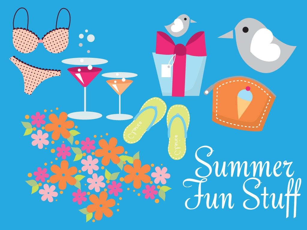 Are you ready for the summer??? Summer Fun Stuff.
