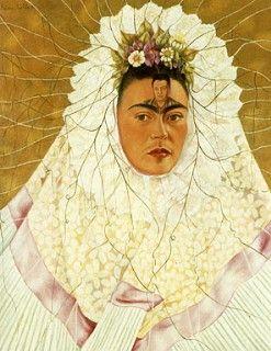 Self Portrait as a Tehuana, Autorretrato como Tehuana, Frida Kahlo, C0410